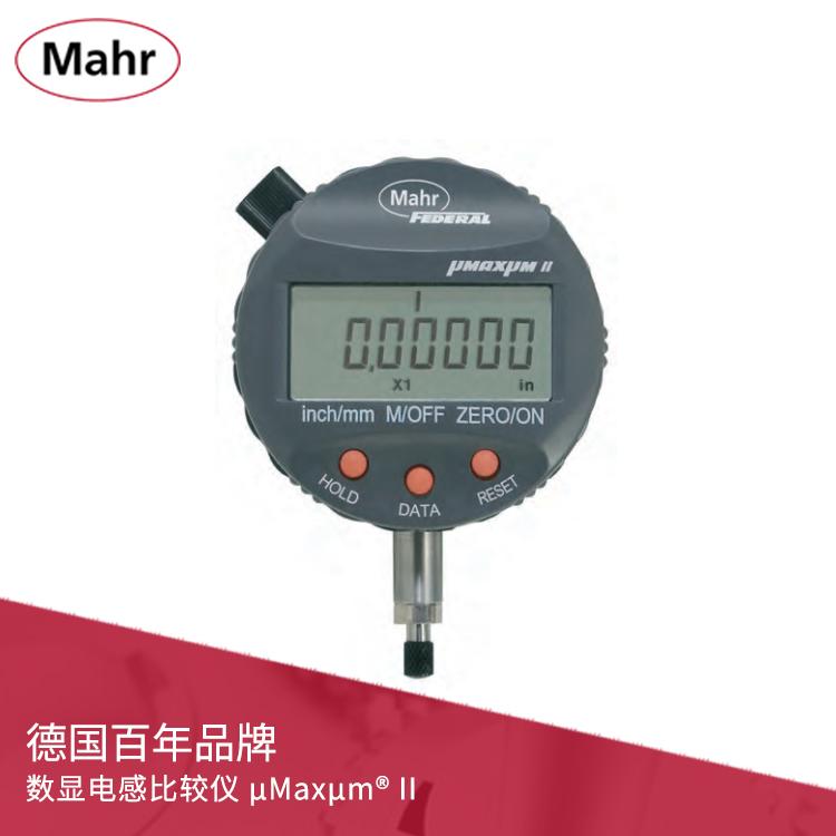 IP54公/英制数显电感比较仪 数据输出 μMaxμm II
