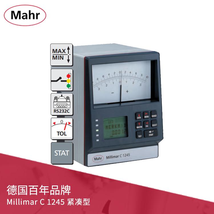 电子长度测量仪 紧凑型指针式放大器 Millimar C 1245