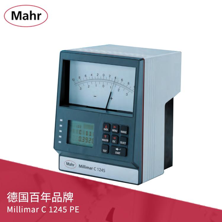 机械指针式放大器气动量仪(单或双标准测系统)Millimar C 1245 PE