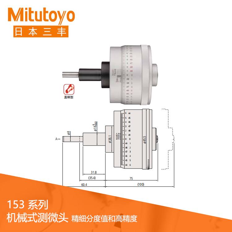 153系列精细分度值/高分辨力型 测微头MHP