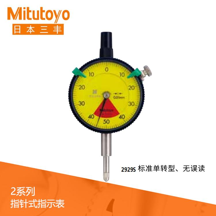 指针式指示表2系列 2929S 标准单转型